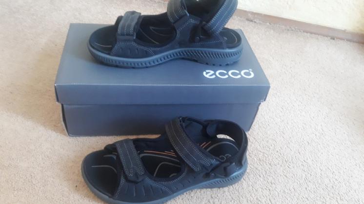 Ecco coast mens сандалии, босоножки мужские. Оригинал. Нубук.