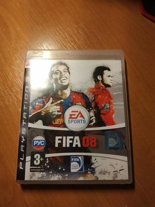Лицензионная Игра FIFA 08 PS3
