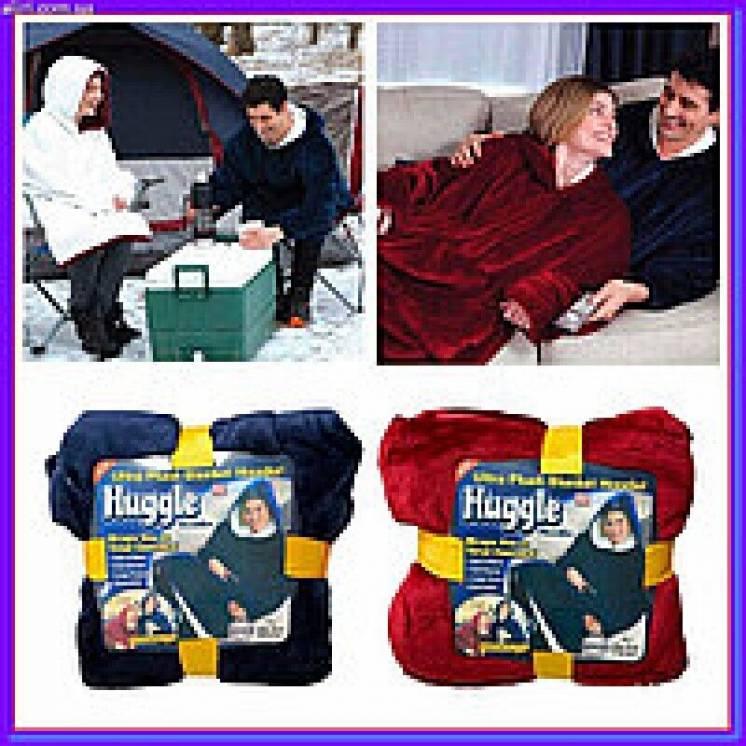 huggle HOODIE толстовка-плед с капюшоном