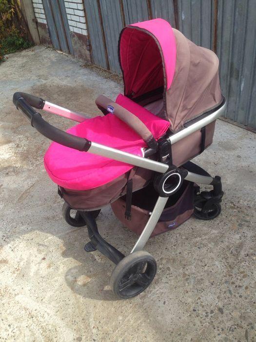 Детская коляска chicco для девочки