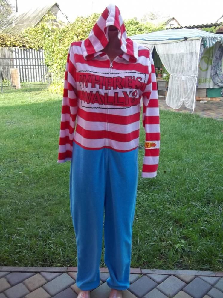 ( 44 р ) Флисовый комбинезон пижама кигуруми Германия