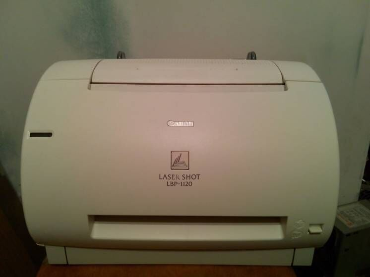 Принтер лазерный Canon Laser Shot LBP-1120 на запчасти