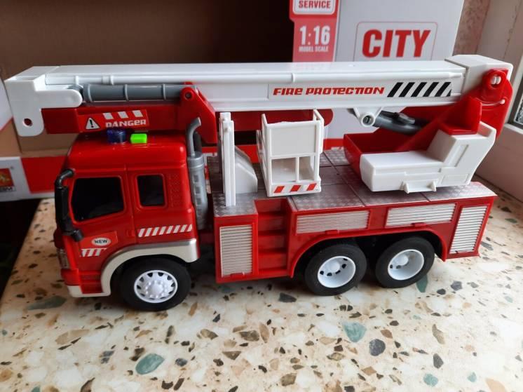 Машинка Пожарные Службы WY350C