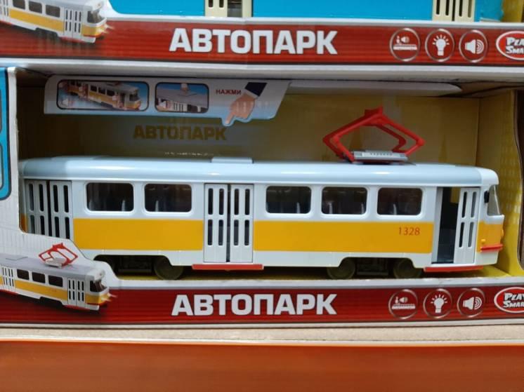 Трамвай Автопарк Play Smart (В Ассортименте )