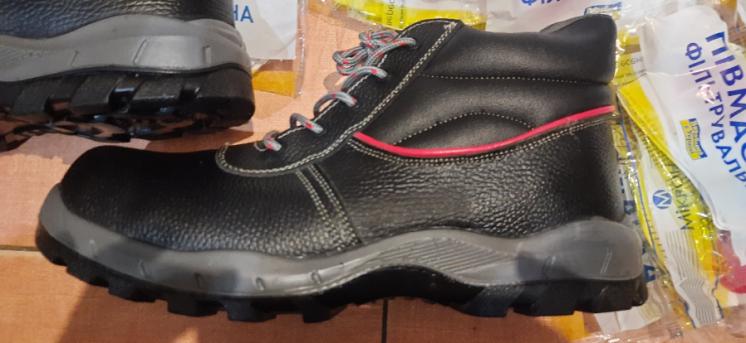 Ботинки Nitras;(Германия),рабочие кожаные с металлическим носком,лёгки