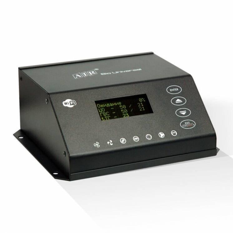 Автоматика для пеллетной горелки AIR BIO UNIVERSAL с Wi-Fi управлением