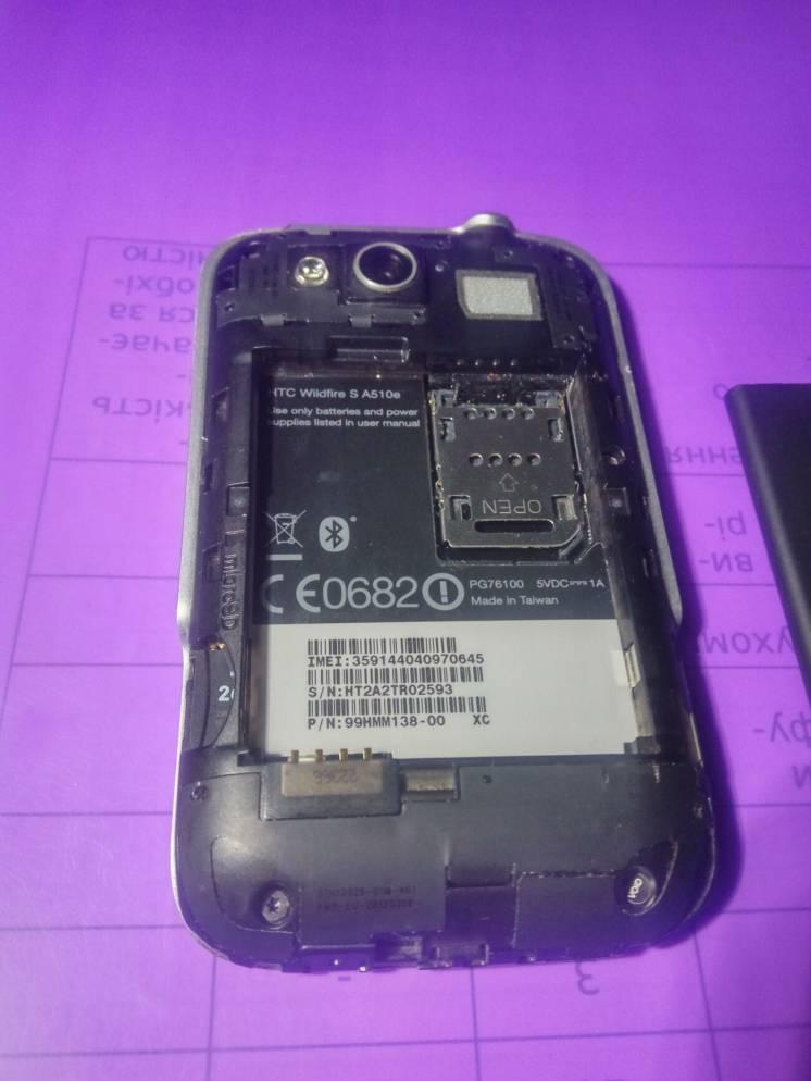 продам рабочую мобилу-HTC SA510e