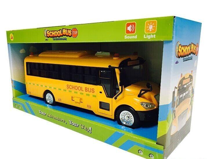 Автобус Школьный 32602 свет, звук