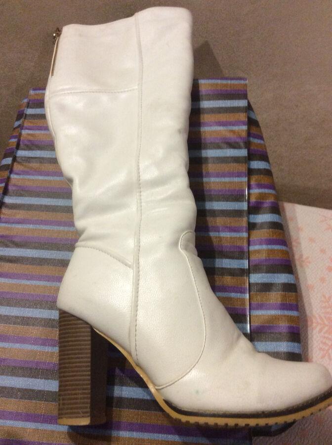 Сапоги женские кожаные. Размер 38