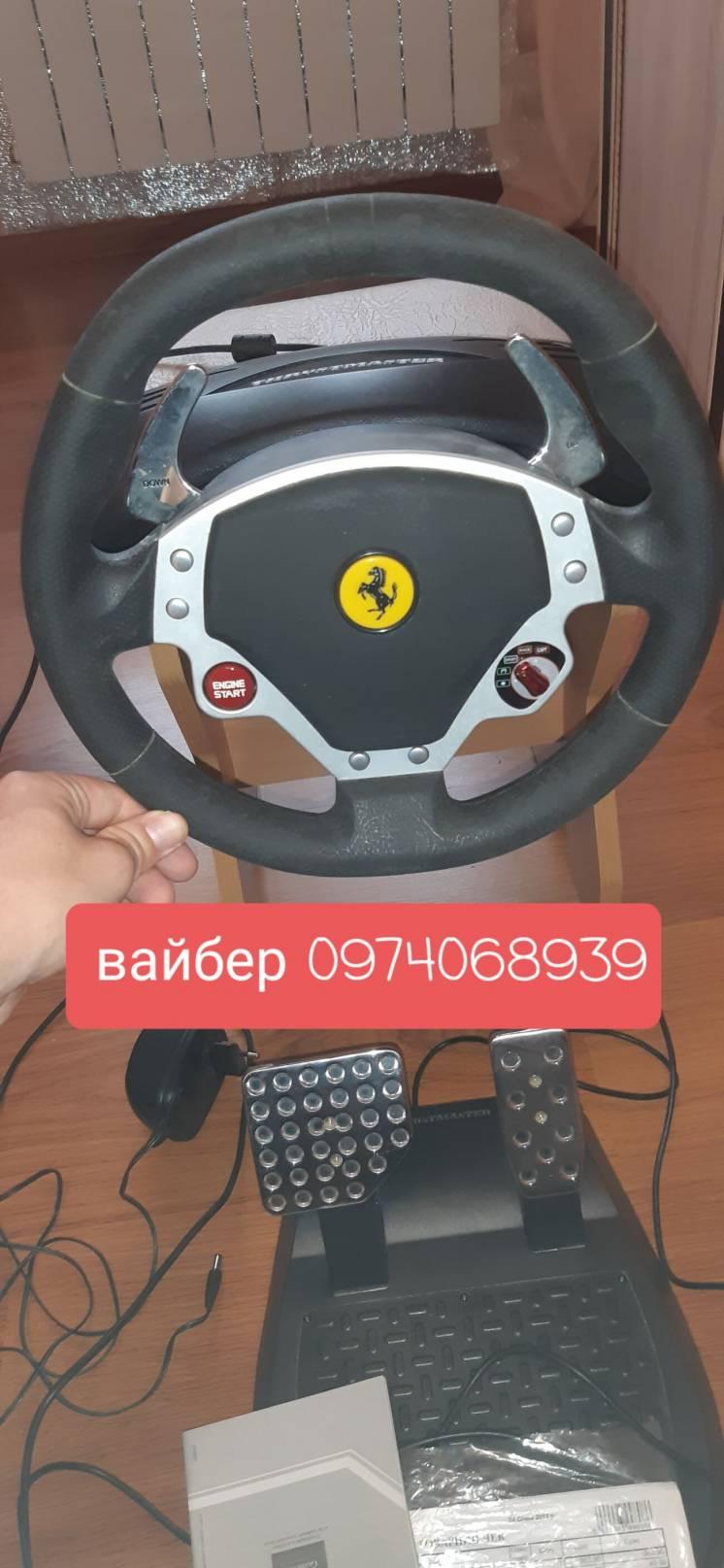 Продам игровой руль на пк,игры на ps1,2,3,4,xbox,pc