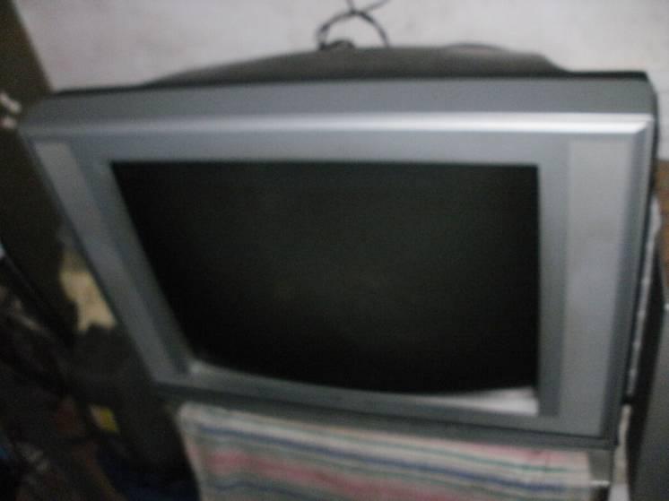 Огромный цв.Телевизор**GROL**Корея! 29/74см! пульт.Т2 входы.стерео.