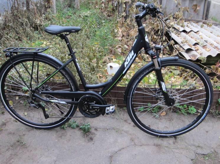 Велосипед KTM Veneto Light Disc Trekkingrad модель 2020 г.в. 30 переда