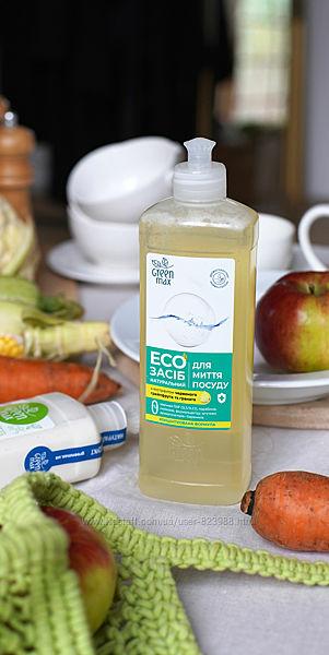 Экосредство для мытья посуды Green Max 500 мл.
