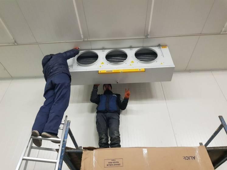 Ремонт обслуговування монтаж сервіс холодильного обладнання