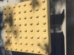 Тактильная плитка бетонная