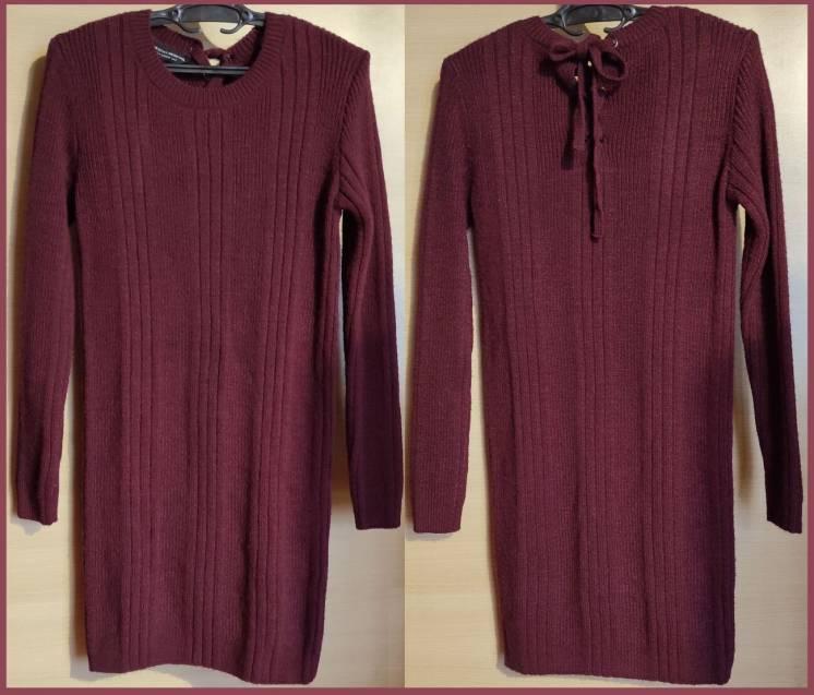 Теплое платье Dorothy Perkins вязка джемпер свитер кардиган туника