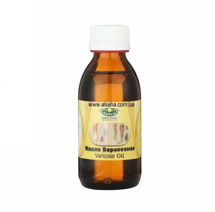 Масло против варикоза 135 мл. Organic for naturals oils