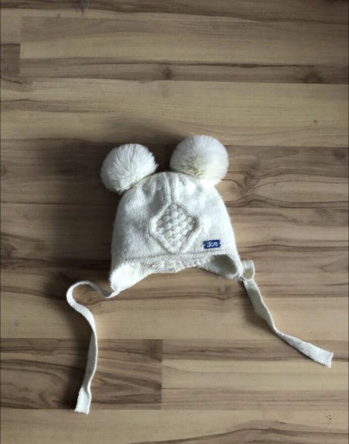 Тёплая шапка для новорождённых