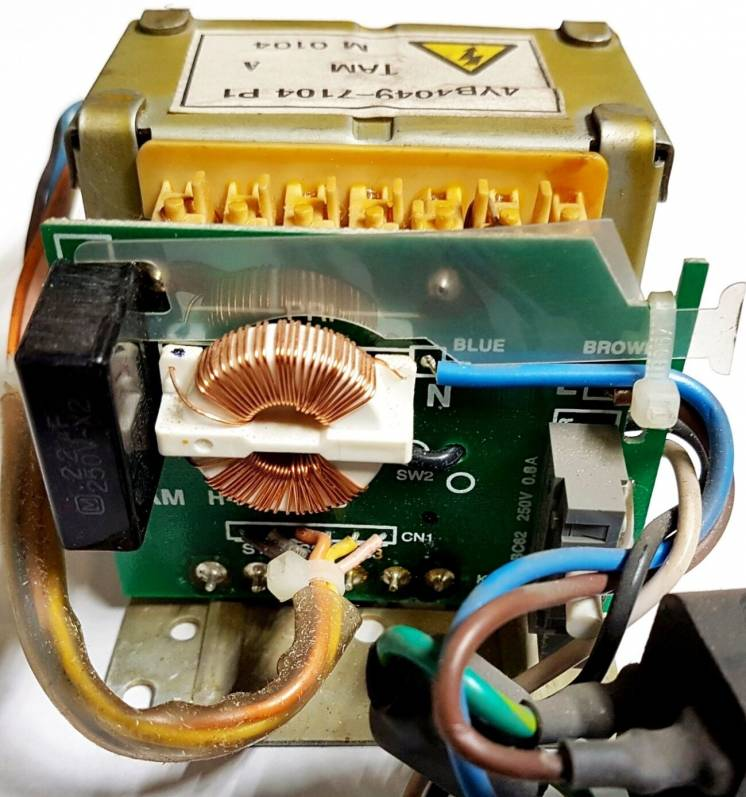 Трансформатор 4YB4049-7104 от принтера Oki-3310
