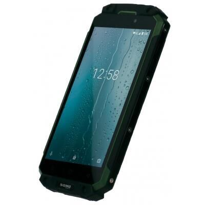 Мобильный телефон Sigma X-treme PQ39 ULTRA Black Green, Смартфон
