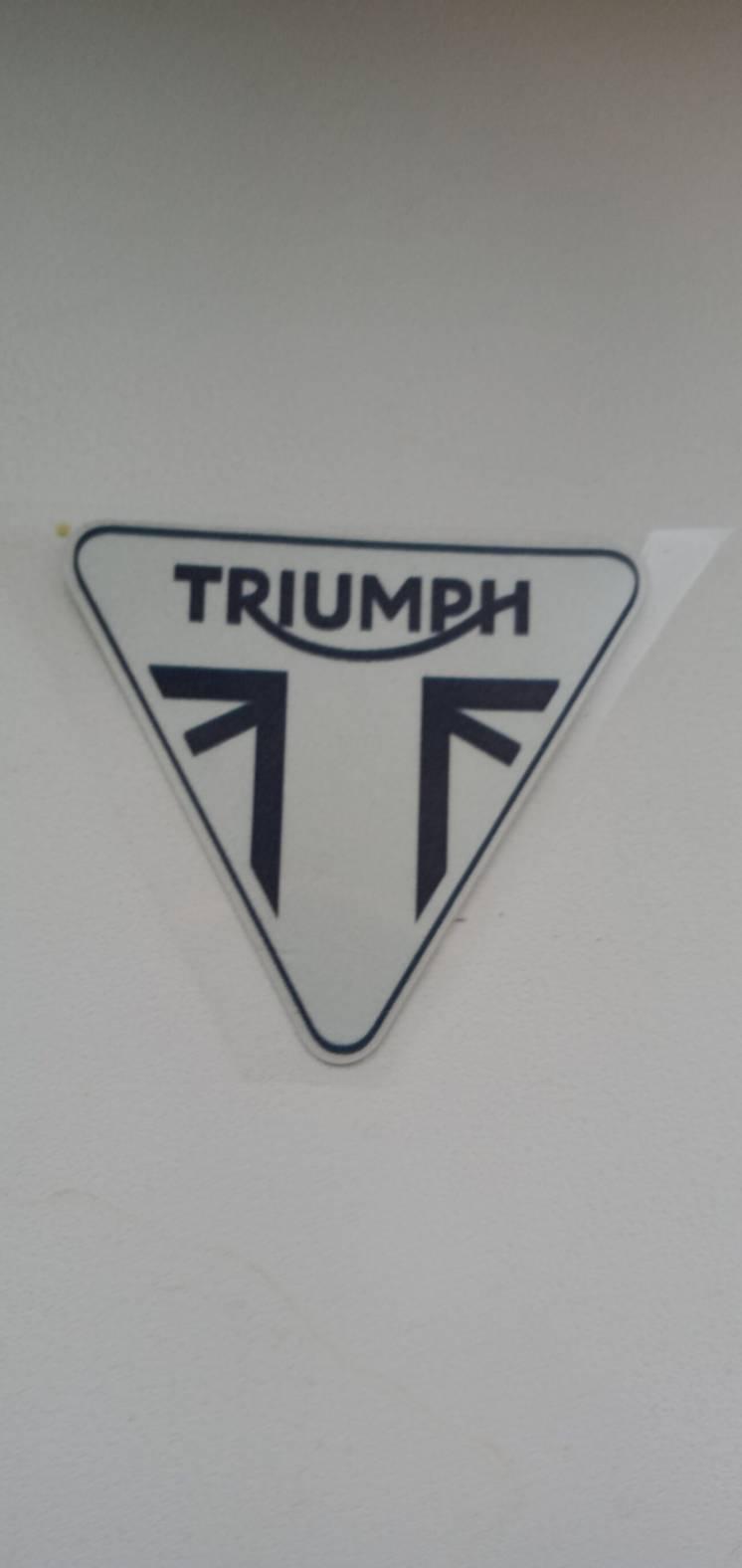 светоотражающая наклейка для мотоцикла Triumph Tiger 800 Daytona 675