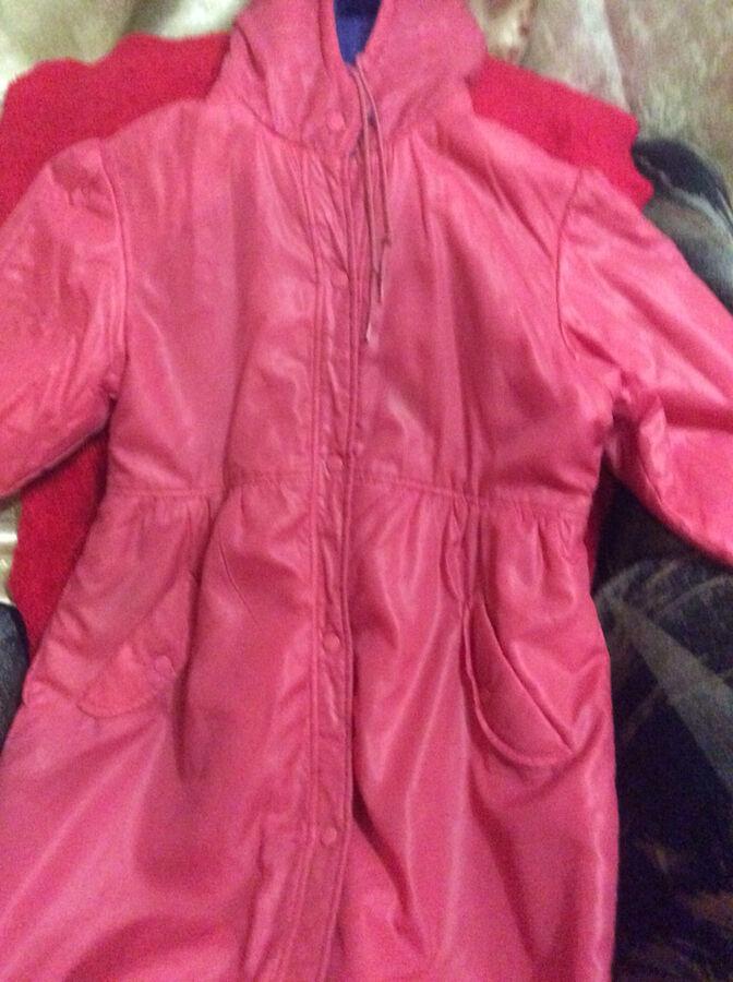 Пальто детское на девочек размер 42 Япония