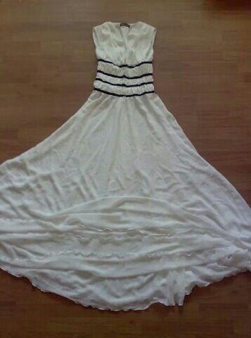 Платье вечернее, на высокий рост. Размер S, можно попробовать на М.