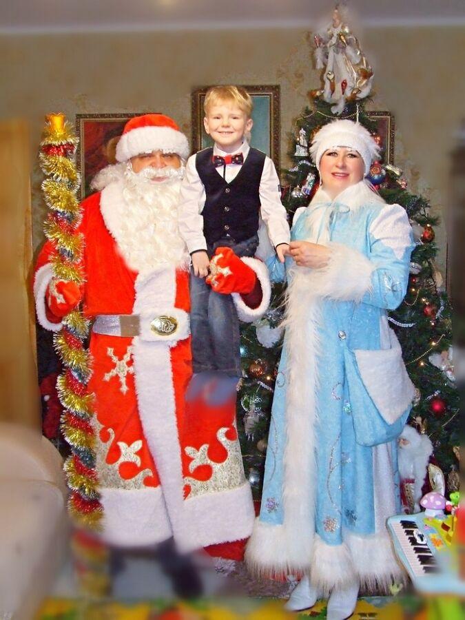Дед Мороз в Донецке