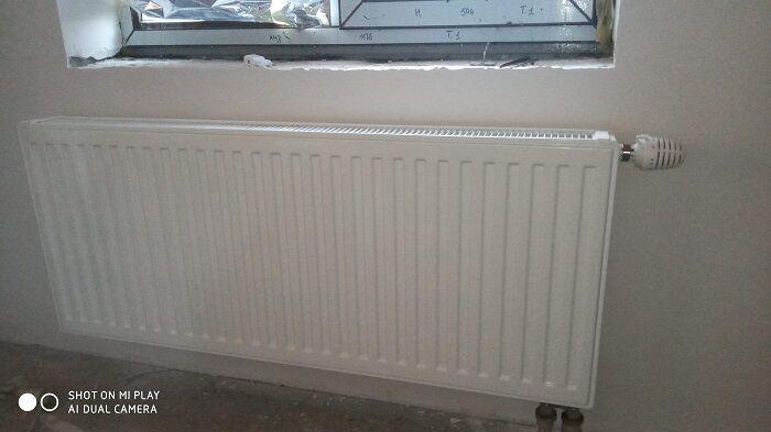 Продам стальной радиатор HERZ, тип 11 Б/У идеал.