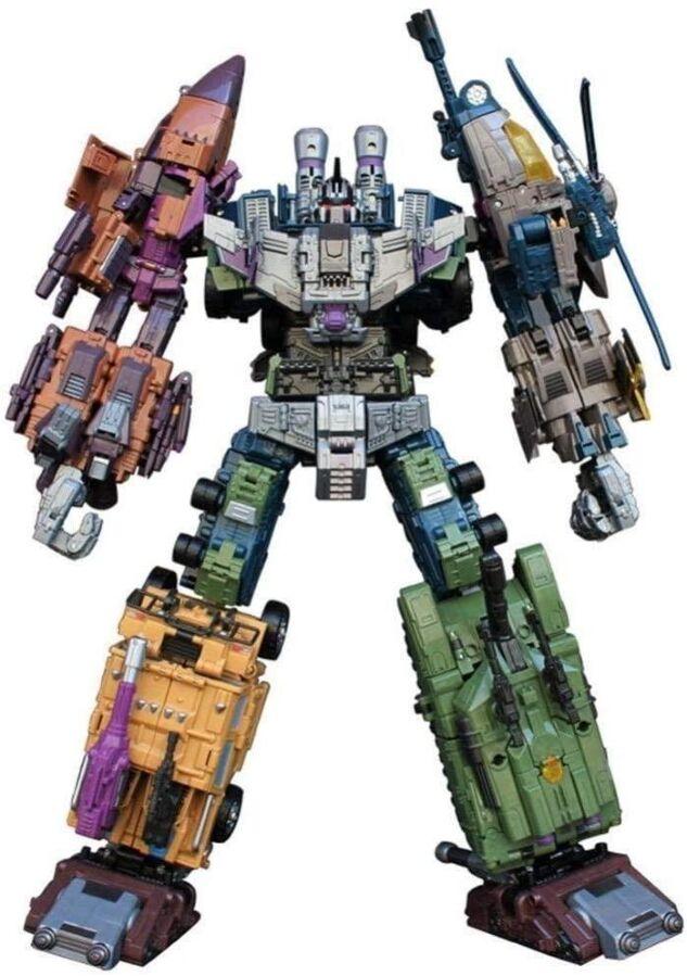 Робот-трансформер комбайнер 5в1, Брутикус, 43 см Bruticus, JinBao