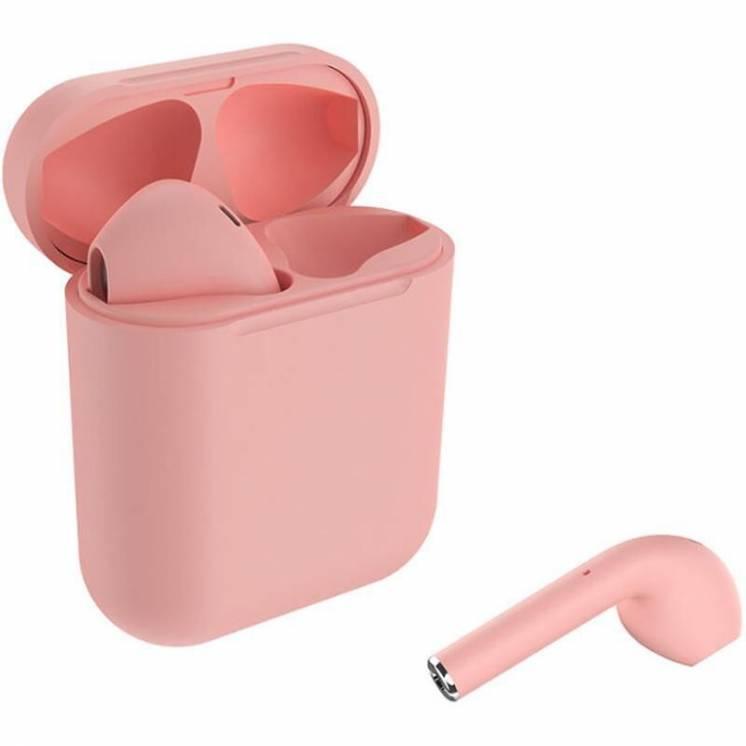 Беспроводные наушники Bluetooth стерео Celebrat W10 TWS Pink покрытие