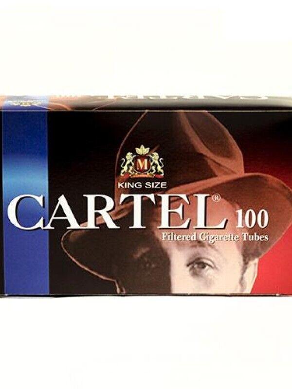 Гильзы для сигарет Cartel 100 шт, хорошее качество доступная цена