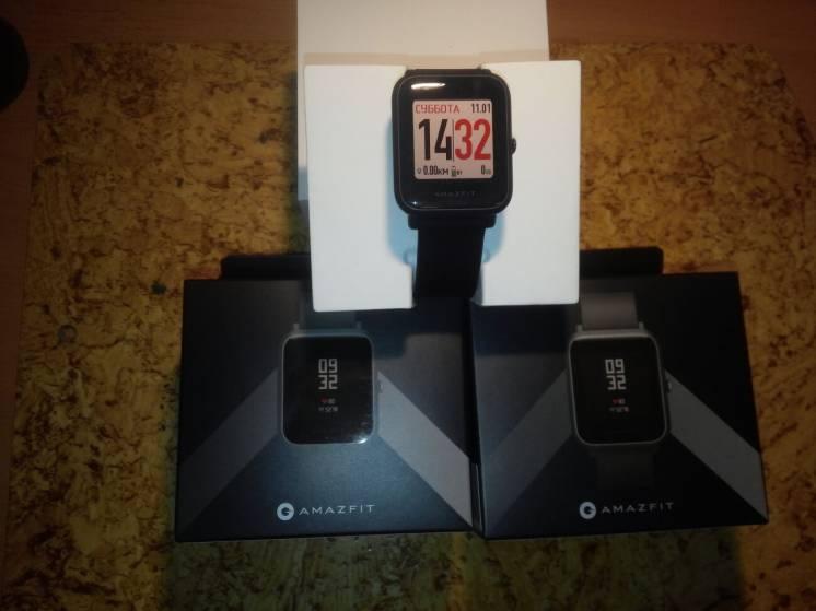 Смарт-часы Xiaomi Amazfit Bip GPS (международная версия)