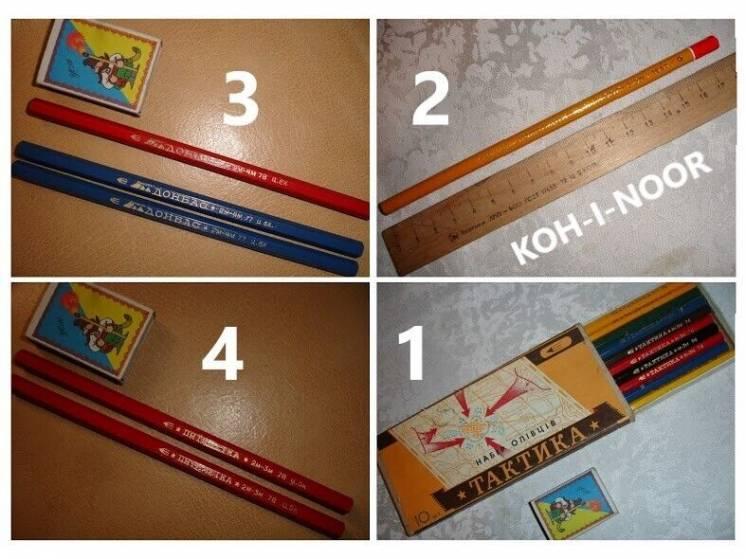 Карандаши/олівці кольорові; якісні; НОВІ; дерев'яні; раритетні; різні