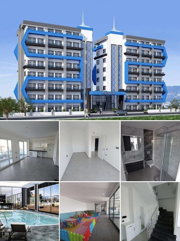 Новая готовая двухэтажная квартира (дуплекс) в новом доме с богатой ин