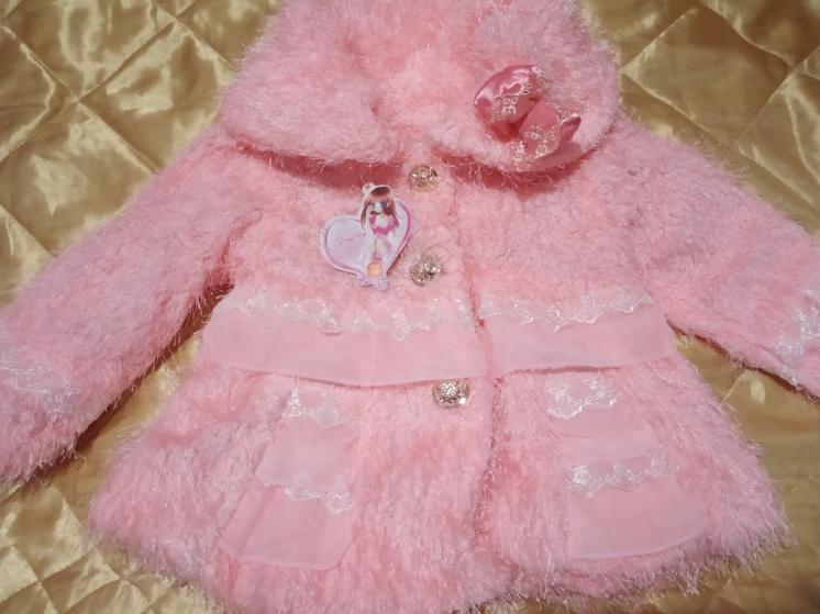 Скидки! Куртка кофта меховушка малышкам 1-5 лет