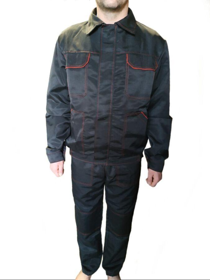 Куртка и полукомбинезон костюм рабочий, спецодежда комбинезоны