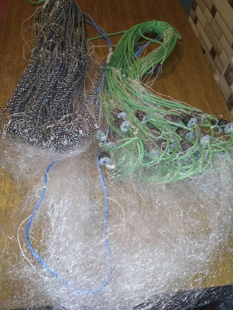 Сетка дорожка риболовна висота 1.20 вічко 45мм