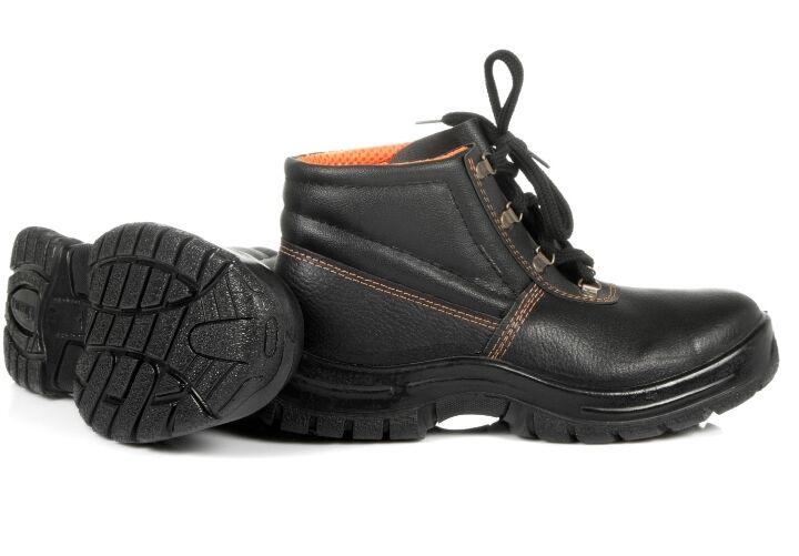 Ботинки рабочие кожанные
