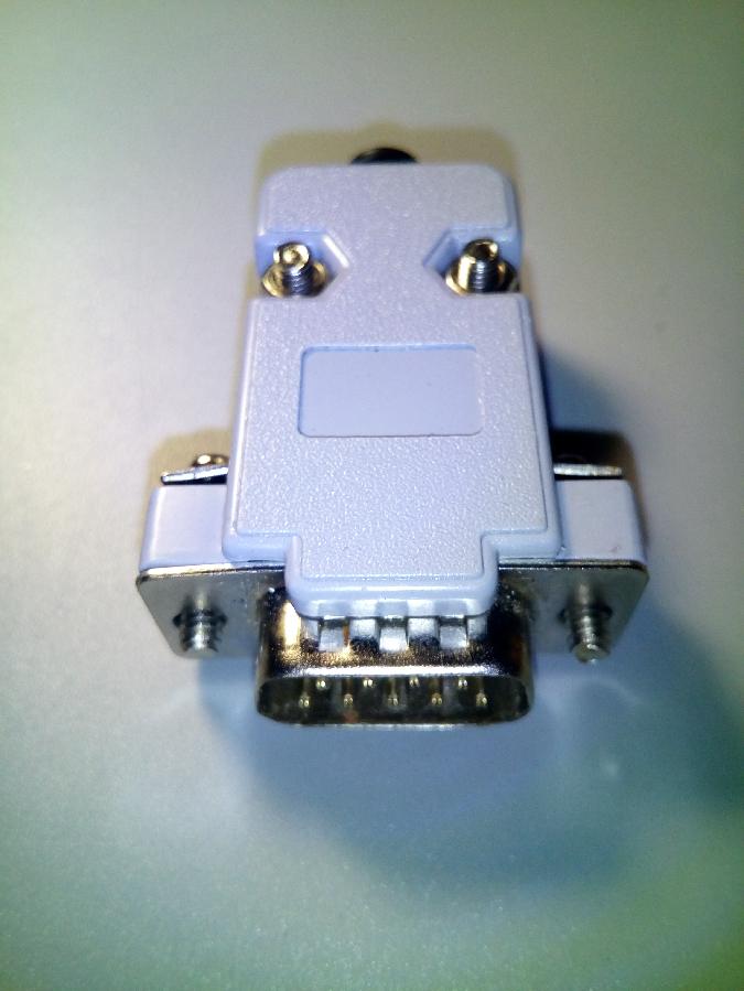 Штекер D-SUB 9 pin разборный