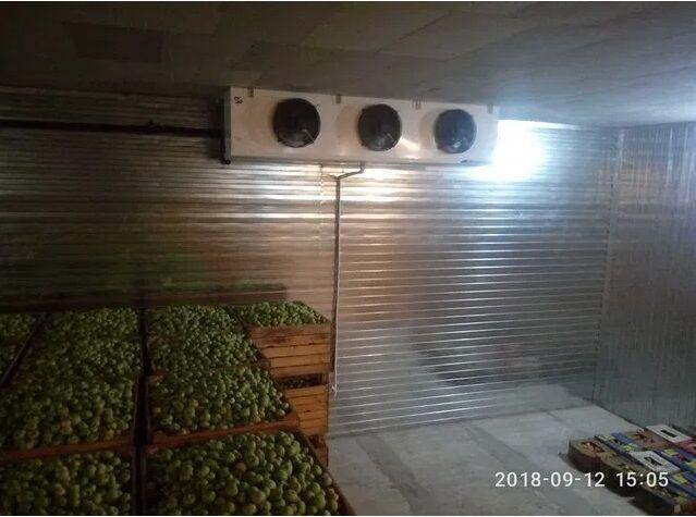 Хранилища, камеры для хранения овощей, фруктов охлаждения