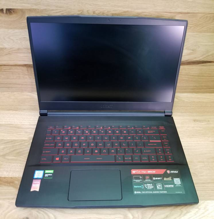 Ноутбук MSI GF63 Thin 9RCX i7-9750H/16/256SSD/GTX1050ti/FHD IPS (NEW)