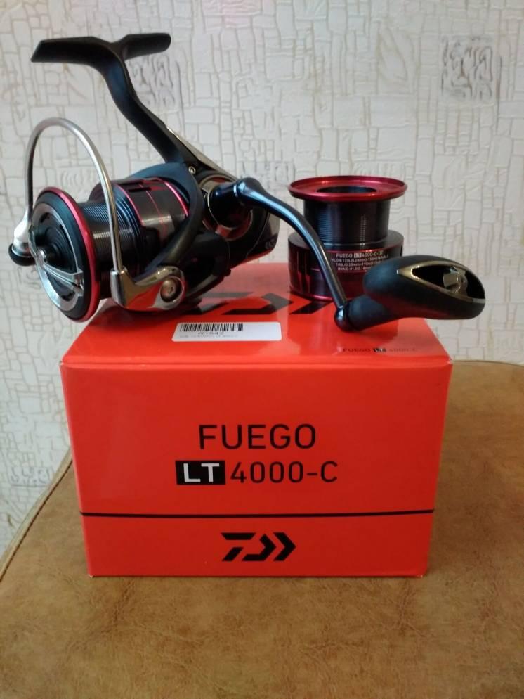 Катушка Daiwa Fuego LT 4000 с запасной шпулей