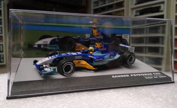модель F1 Sauber Petronas C23, Felipe Massa 2004, 1:43