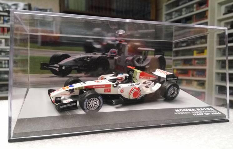 модель F1 Honda RA106 Rubens Barrichello 2006, 1:43