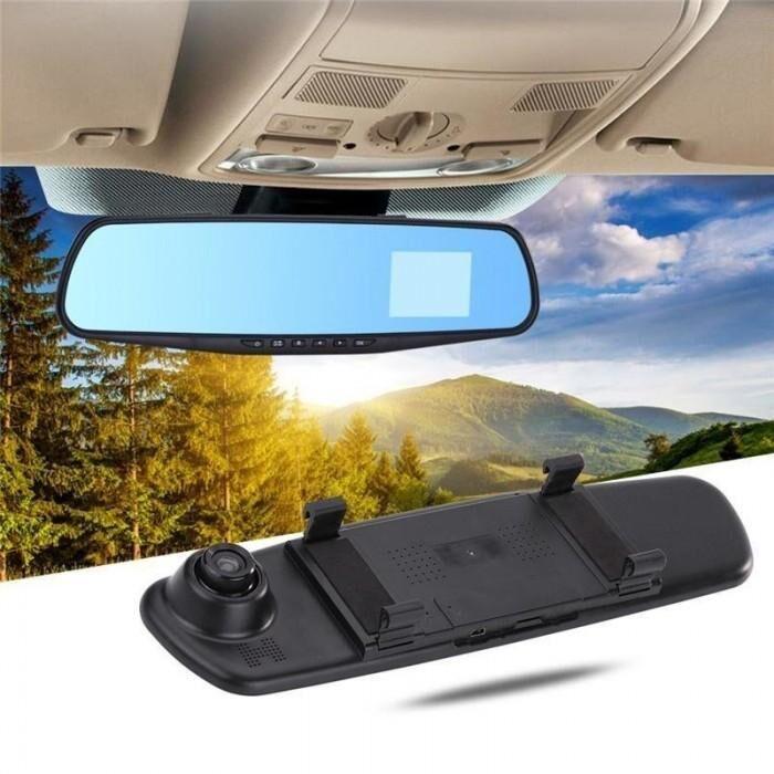 Видеорегистратор - Зеркало Заднего Вида 2 Камеры DVR L9000 [Хит]