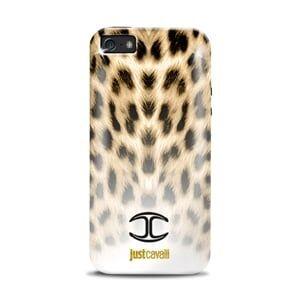 Силиконовый чехол Justcavalli Macro Leopard Макро Леопард для IPhone 5