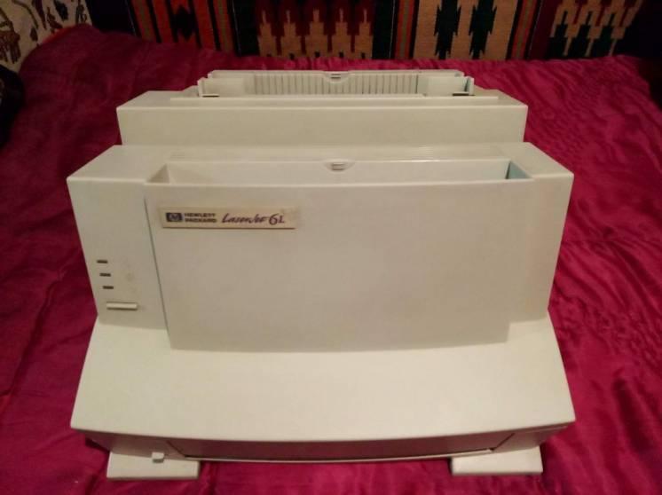 Принтер лазерный HP LaserJet 6L Отличная печать