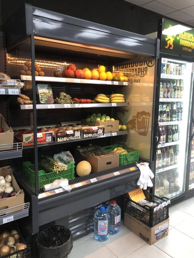 Горки(регалы) холодильные б/у. Выносной холод