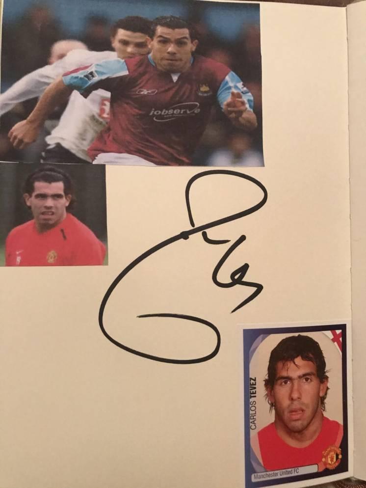 Автографы звёзд футбола